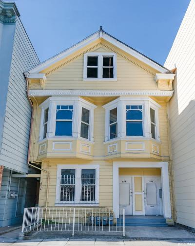 San Francisco Multi Family Home For Sale: 451 23rd Ave