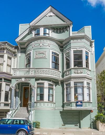 San Francisco Condo/Townhouse For Sale: 1402 Post St #C
