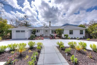 Marin County Single Family Home Act Cont Show: 16 Almenar Dr
