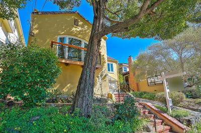 Marin County Single Family Home For Sale: 1140 Mission Ave