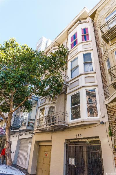 San Francisco Multi Family Home Act Cont Show: 334 Hyde St