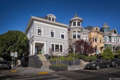 San Francisco Single Family Home For Sale: 701 Scott St