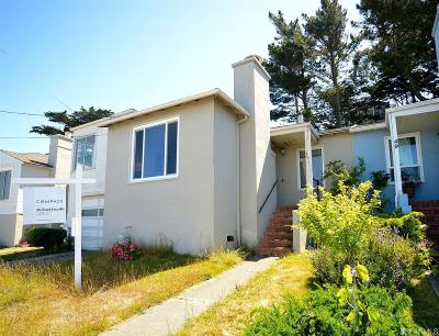 Daly City CA Single Family Home Act Cont Probate: $893,000