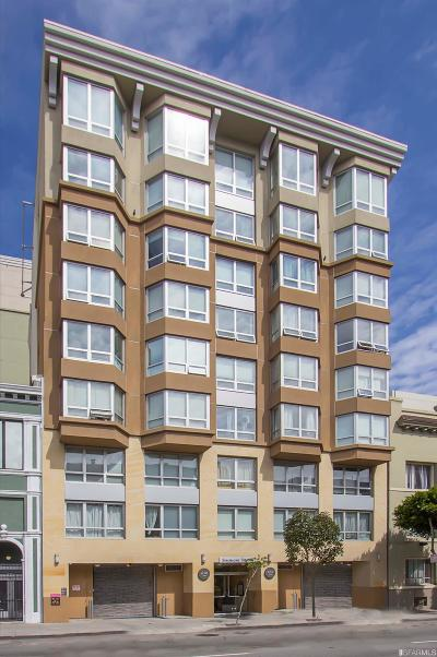San Francisco Condo/Townhouse For Sale: 650 Turk St #604