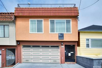 San Francisco Single Family Home For Sale: 906 Garfield St