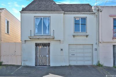 San Francisco Single Family Home For Sale: 3509 Noriega St