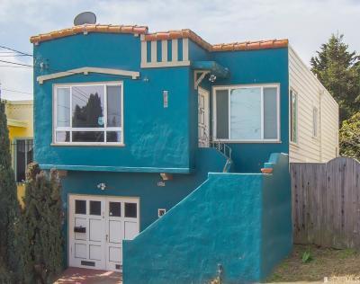 San Francisco Single Family Home For Sale: 255 Ottawa Ave