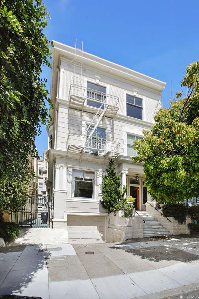 San Francisco Condo/Townhouse For Sale: 3436 Clay St #1