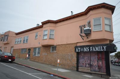 San Francisco Multi Family Home For Sale: 5201 5205 Mission St