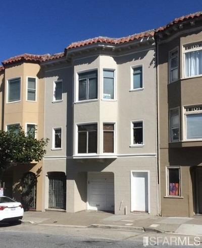 San Francisco Multi Family Home For Sale: 1516 Lombard St