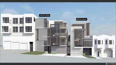 San Francisco Multi Family Home For Sale: 660 De Haro