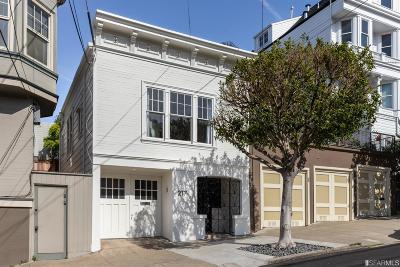 San Francisco Single Family Home For Sale: 217 Hartford St