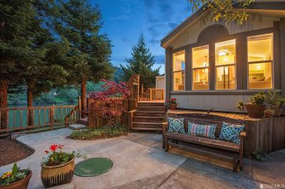 Sonoma County Single Family Home For Sale: 26310 Guerneville Jenner Hwy