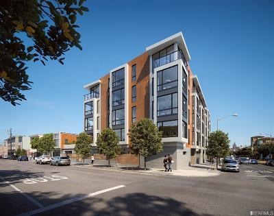 San Francisco Condo/Townhouse For Sale: 1188 Valencia #102