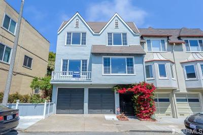 San Francisco Single Family Home For Sale: 514 Los Palmos Dr
