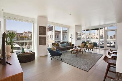 San Francisco Condo/Townhouse For Sale: 1688 Pine St #W809