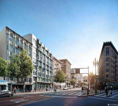 San Francisco Condo/Townhouse For Sale: 1075 Market St #801