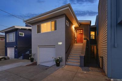 San Francisco Single Family Home For Sale: 1459 Shafter Ave