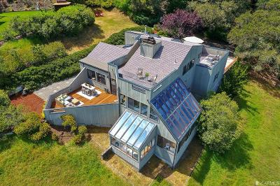 Marin County Single Family Home For Sale: 955 Bolinas Rd