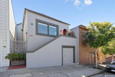 San Francisco Single Family Home For Sale: 1583 La Salle Ave