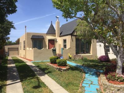 San Francisco Single Family Home For Sale: 35 De Soto St