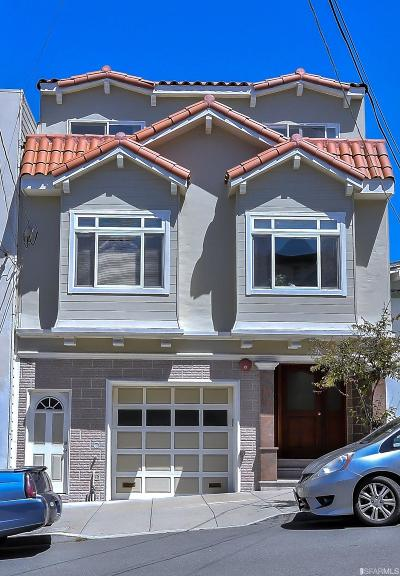 San Francisco Multi Family Home For Sale: 536 538 28th Ave