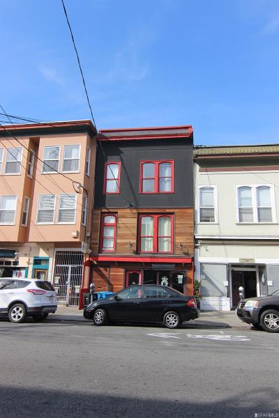 San Francisco Multi Family Home For Sale: 2120 Greenwich St
