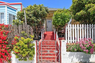 San Francisco Single Family Home For Sale: 1484 Newcomb Ave