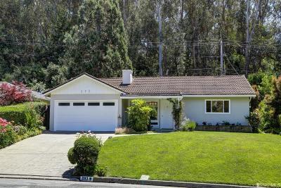 Marin County Single Family Home For Sale: 293 Ricardo Rd