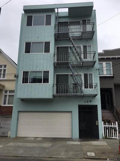 San Francisco Condo/Townhouse For Sale: 130 23rd Ave #1