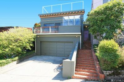 San Francisco Single Family Home For Sale: 4335 Cesar Chavez