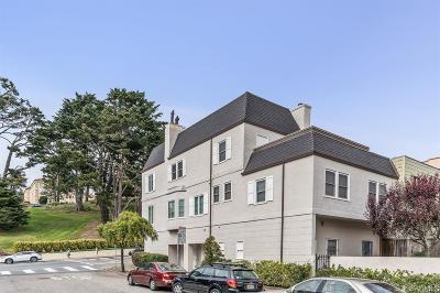 San Francisco Multi Family Home For Sale: 2845 2847 Turk Blvd