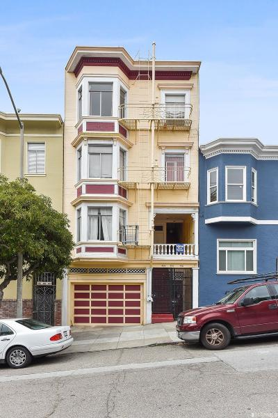 San Francisco CA Multi Family Home For Sale: $3,150,000