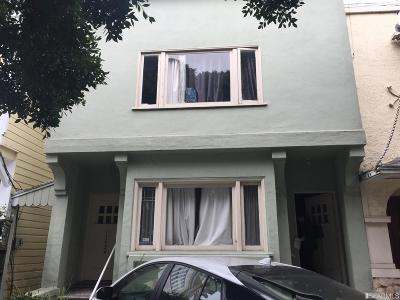 San Francisco Multi Family Home For Sale: 1227 1229 7th Ave