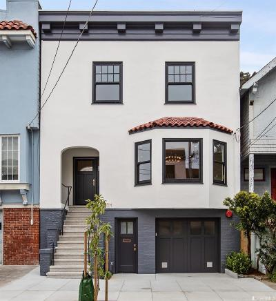 San Francisco Single Family Home For Sale: 354 27th Ave