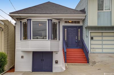 San Francisco Single Family Home Act Cont Show: 50 Tioga Ave
