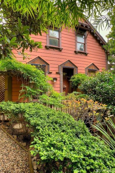 San Francisco Single Family Home For Sale: 228 Filbert St