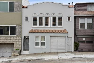 San Francisco Single Family Home For Sale: 2343 19th Ave