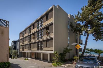 San Francisco Condo/Townhouse For Sale: 1725 Kearny St #6