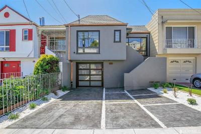 San Francisco Single Family Home For Sale: 255 Ralston St