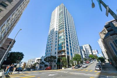 San Francisco Condo/Townhouse For Sale: 1200 California St #8D