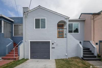 San Francisco Single Family Home For Sale: 39 West View Ave