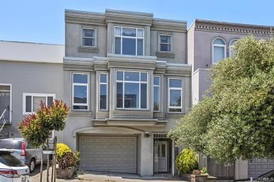 San Francisco Single Family Home For Sale: 31 33 Beaumont Ave