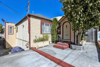 San Francisco Single Family Home For Sale: 204 Theresa St