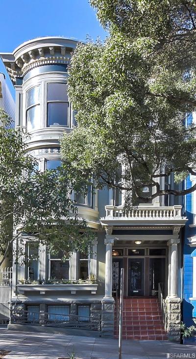 San Francisco Condo/Townhouse For Sale: 1237 Masonic Ave