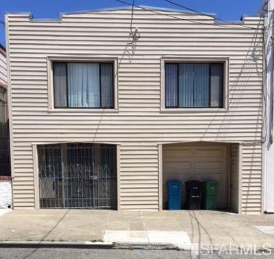 San Francisco Single Family Home For Sale: 212 Raymond Ave