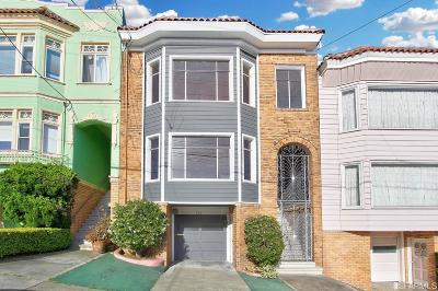 San Francisco Multi Family Home For Sale: 754 754A 32nd Ave