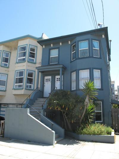 San Francisco Multi Family Home For Sale: 1364 1368 47th Ave