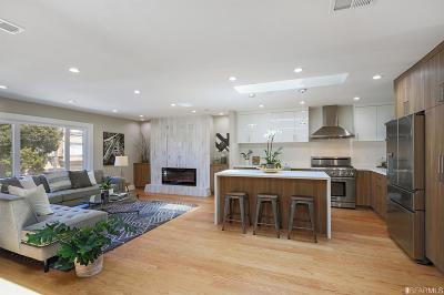 San Francisco Single Family Home For Sale: 2730 44th Ave