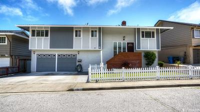 Pacifica Single Family Home For Sale: 5 Pt. Reyes Way